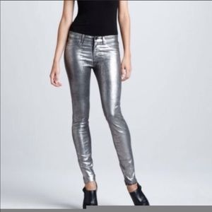J Brand 801 Coated Metallic Jean